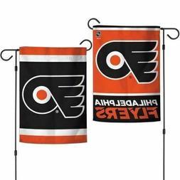"""Philadelphia Flyers DOUBLE SIDED 12""""X18"""" GARDEN FLAG BANNER"""