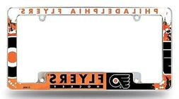 Philadelphia Flyers EZ View All Over Chrome Frame Metal Lice