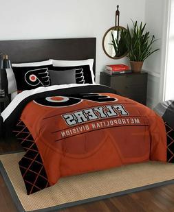 Philadelphia Flyers Full Queen NHL Hockey Comforter Pillow S