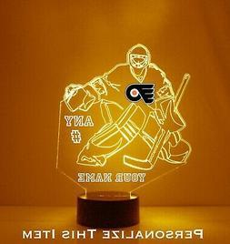 Philadelphia Flyers Goalie - Personalized FREE - NHL Hockey