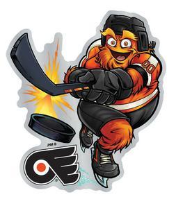 Philadelphia Flyers Gritty The Mascot Premium Auto Emblem De