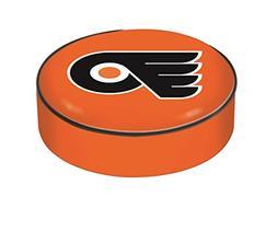 Philadelphia Flyers HBS Orange Vinyl Slip Over Bar Stool Sea