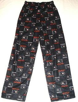 Philadelphia Flyers Hockey Youth Pajama Lounge Pants Black N