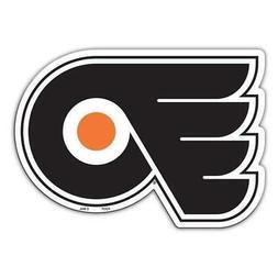 Philadelphia Flyers Laser Cut Logo Steel Magnet Authentic St