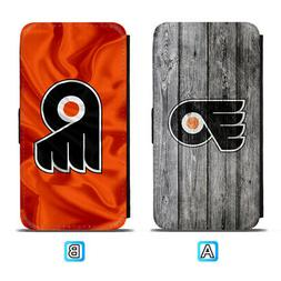 Philadelphia Flyers Leather Flip Case For iPhone X Xs Max Xr
