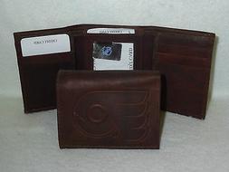 PHILADELPHIA FLYERS    Leather TriFold Wallet    NEW   dkb z