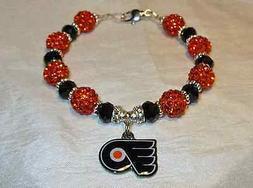 Philadelphia Flyers~Logo Charm~Bracelet~Jewelry~Claude Girou