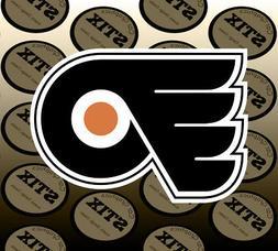 Philadelphia Flyers Logo NHL Color Die Cut Vinyl Sticker Car