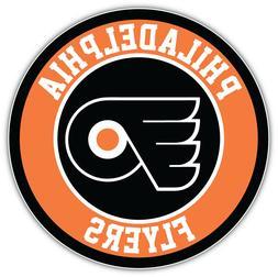 Philadelphia Flyers Logo NHL Sport Car Bumper Sticker Decal