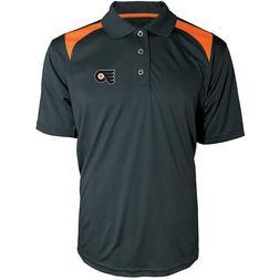 Philadelphia Flyers NHL Men's Colorblock Polo Shirt Size 3