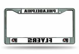 Philadelphia Flyers New Design Metal Chrome Frame License Pl