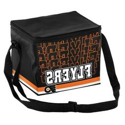 Philadelphia Flyers NHL 6 pack Cooler Lunch Box Insulated