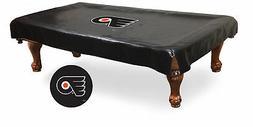 Philadelphia Flyers HBS Black Vinyl Billiard Pool Table Cove