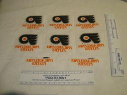 Philadelphia Flyers NHL Hockey Cotton Fabric Iron-On Patches