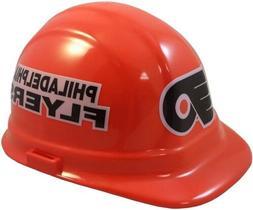 Philadelphia Flyers NHL Hockey Hard Hat with Pin Lock Suspen