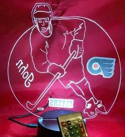 Philadelphia Flyers NHL Hockey Player Night Light Up Persona