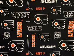 Philadelphia Flyers NHL Hockey Team Sports Quilt Cotton Face