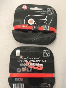 PHILADELPHIA FLYERS NHL ROXO CHARM BRACELET GET ONE OR TWO!