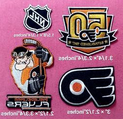 Philadelphia Flyers NHL Set4pcs Logo Patch sport Embroidery
