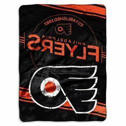 Philadelphia Flyers NHL Stamp Design Raschel Plush 60x80 Twi