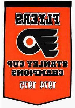 Philadelphia Flyers NHL Stanley Cup Champions Banner Champio