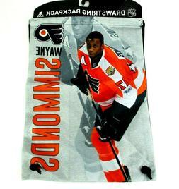 Philadelphia Flyers NHL Wayne Simmonds Drawstring Backpack B