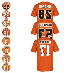 Philadelphia Flyers Reebok Official Player Name & Number Jer