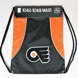 Philadelphia Flyers Officially Licensed NHL Back Sack Tote