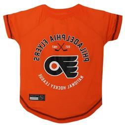 Philadelphia Flyers Officially Licensed NHL Dog Pet Tee Shir