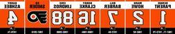 Philadelphia Flyers Retired Numbers Replica Banner Set