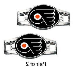 Philadelphia Flyers Shoe Charms / Paracord Charms