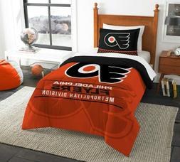 Philadelphia Flyers Twin Comforter Set