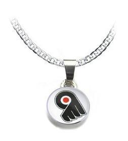 Philadelphia Flyers Women's 925 Sterling Silver Necklace Hoc