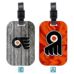 Philadelphia Flyers Wood Luggage Tag Suitcase Trip Travel Ba