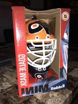 Rare Philadelphia Flyers Mini Goalie Helmet Mask Riddell New
