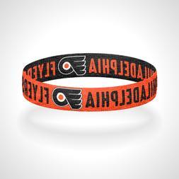 Reversible Philadelphia Flyers Bracelet Wristband Broad Stre