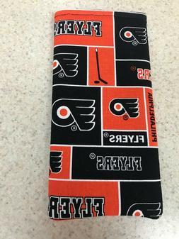 Sunglass / Eyeglass Soft Fabric Case - Philadelphia Flyers -